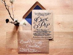 Invitations vintage | Blog mariage, Mariage original, pacs, déco