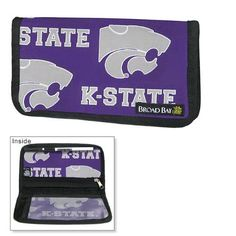 K-State Logo Checkbooks Kansas State University Cover Cotton with WATERPROOF LINING! by Broad Bay. $9.99. Vinyl Divider for Duplicate Style Checks. Secure Zippered Pocket. Pen and Pen Holder Loop. Inside Slip Pocket. cotton. Best Unique Valentine Gift Ideas. One of our most popular accessories, the Broad Bay K-State Logo checkbook cover features an inside pocket as well as a zippered pocket for cash and receipts, a vinyl divider for duplicate checks, and a pen loop to...