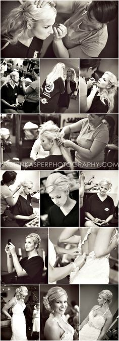 Bride Getting Ready | Wedding Day Photos | Kristen Kasper Photography