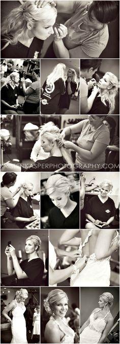 Bride Getting Ready | Wedding Day Photos | Kristen Kasper Photography