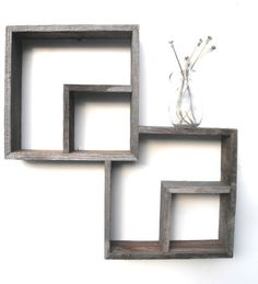 I have this obsession with wooden ornaments, frames, etc. Reminds me of an old beach house..