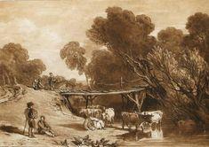 Bridge and Cows. 1