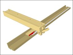 wooden table saw fence plans