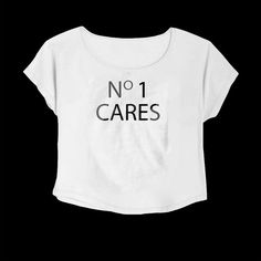 No 1 Cares T-Shirt Crop Tee Tumblr T-Shirt Typography Tee S M L Xl 2xl... ($12) ❤ liked on Polyvore featuring tops, t-shirts, white, women's clothing, tee-shirt, cropped tees, checkered shirt, white tee and checkered t shirt