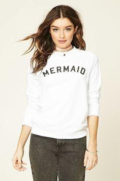 Mermaid Graphic Sweatshirt