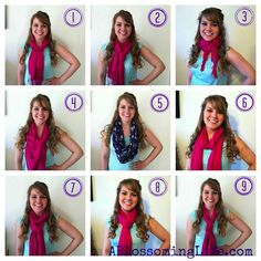 9 Easy Ways to Tie a Scarf