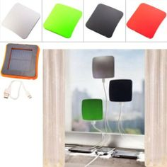 2600mAh Window Mounted Solar Energy Powered Rechargeable Power Bank for Mobile Devices - 5 Colors - http://www.yourglt.com/2600mah-window-mounted-solar-energy-powered-rechargeable-power-bank-for-mobile-devices-5-colors/?utm_source=PN&utm_medium=http%3A%2F%2Fwww.pinterest.com%2Fpin%2F368450813235896433&utm_campaign=SNAP%2Bfrom%2BGreen+-+Village