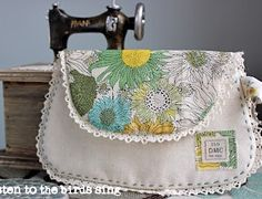 Liberty Vintage Clutch Sewing Tutorial