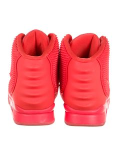 be07435316b176 Air Yeezy Red October Sneakers. Men s red woven Nike ...