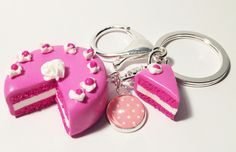 Pink Cake out of polymer clay Oink Cake aus FIMO