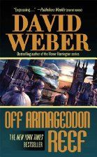 Today's Kindle SciFi/Fantasy Daily Deal is Off Armageddon Reef ($2.99), by David Weber [Tor Books / Macmillan], which has received a Starred Review from BookList and is one of those 600+ page hardcovers you've seen in the New section at most bookstores. I'd grab it, even if Weber wasn't an auto-buy for us (and I bought this one three years ago).