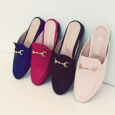 Slide-mules Slippers, Flats, Shoes, Fashion, Loafers & Slip Ons, Moda, Zapatos, Shoes Outlet, La Mode