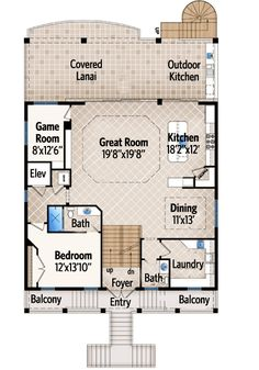 1000 images about dream house on pinterest floor plans for Garage apartment plans with elevator