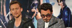 Noticias de cine y series: Robert Downey Jr. da la bienvenida a Tom Hiddleston a Instagram