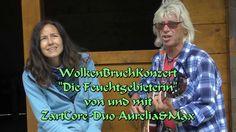 """WolkenBruchKonzert """"Die Feuchtgebieterin"""" von und mit ZartCore-Duo Aurel..."""