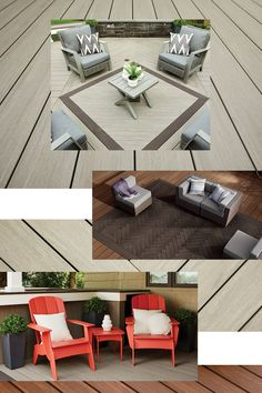 Patio Entry Ideas, Outside Living, Outdoor Living, Deck Design, House Design, Deck Cost, Outdoor Spaces, Outdoor Decor, Deck Decorating