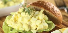Recipe for Health: Dilly Egg Salad sandwiches, eggs, football appetizers, food, egg salad, salad sandwich, sandwich recipes, salads, camping recipes