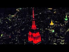 October 31, 2015: New York's skies are haunted by one spook-tacular Empire State Building light show on Halloween! Watch it here: https://www.youtube.com/watch?v=vqRPD_45q_E&feature=youtu.be #ESBoo