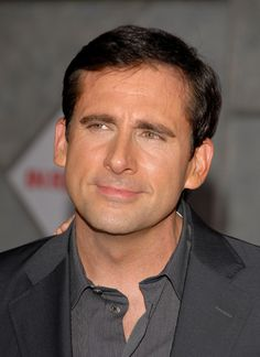 Steve Carrell, such a funny & nice guy, i like his friendly personality