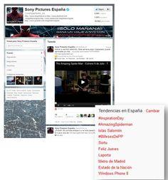 Las cuentas FASHION de Twitter: @sonypictures_es