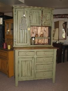 Looking at a cabinet like this for the dining room! :)