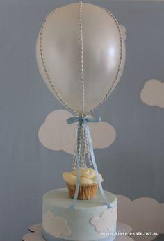 A girl can dream...: Hot air balloon baby shower theme!