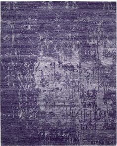 This bamboo rug is a soft, gray wash of purple. Sophisticated and sustainable.   Nourison SHA10 Amethyst Nourison Rugs, Purple Furniture, Purple Area Rugs, Queen, Shades Of Purple, Purple Lilac, Purple Amethyst, Deep Purple, Color Of The Year