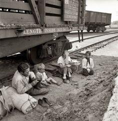 Dorothea Lange: family trip 1939