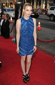 """Actress Emma Roberts arrives at the premiere of The Weinstein Company's """"Scream 4"""" held at Grauman's Chinese Theatre on April 11, 2011 in Hollywood, California"""