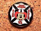 Mickey Disney Pin - Main Street Firehouse - Mini Pin Boxed Set 71 Emblem Only #EasyNip