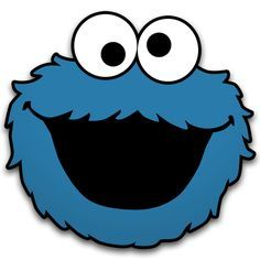 cookie monster faces templates - Google Search
