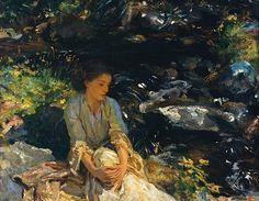 John Singer Sargent, The Black Brook c.1908