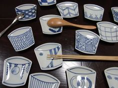 Sobachoko design dishes.