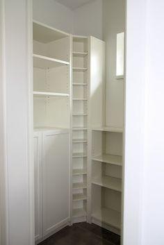 Bautagebuch ProHaus - Hausnummer 17: Einrichtung der Speisekammer