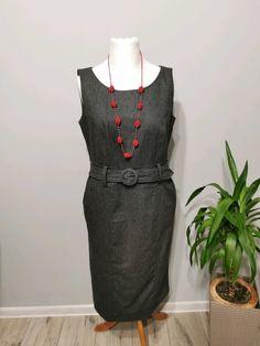 Sukienka z paskiem rozm. z wymiarów 42 - Vinted Cold Shoulder Dress, Dresses, Fashion, Vestidos, Moda, Fashion Styles, Dress, Fashion Illustrations, Gown