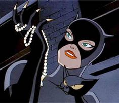 Catwomen and her pet cat Isis in Batman The Animated Series. Description from film-fever.blogspot.no. I searched for this on bing.com/images