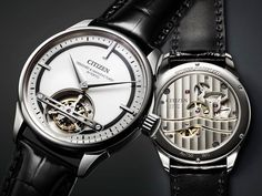 Citizen releases their first Tourbillon Y01 limited to only two pieces. Designed & manufactured in Tokyo it is made to commemorate the 300th anniversary of the Japanese department store giant Daimaru.