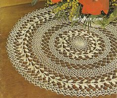 Free Crochet - Wreath of Victory Doily Pattern