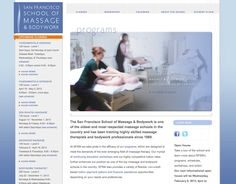 We designed the website for the best massage school in the country.