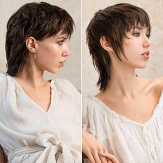 Long Asymmetrical Hairstyles, Short Wavy Haircuts, Summer Haircuts, Summer Hairstyles, Straight Hairstyles, Shampoo For Curly Hair, Curly Hair Cuts, Curly Hair Styles, Mullet Haircut
