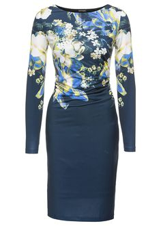 Ruha Dzsörzé ruha csónak nyakkivágással • 7999.0 Ft • bonprix Dresses For Work, Formal Dresses, Your Style, High Neck Dress, Long Sleeve, Sleeves, Women, Fashion, Dresses For Formal