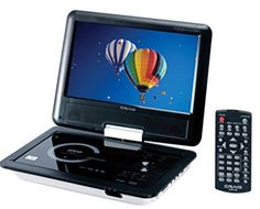 The portable DVD/CD player features a full TFT swivel screen display and is DVD/CD/CD-R/JPEG compatible. Has built-in stereo speakers, built-in rec. Tv Accessories, Presents For Boyfriend, Tear, Xmas Presents, Stereo Speakers, Portable, Sd Card, Safari, Remote