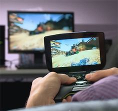 NVIDIA Project SHIELD Steaming Borderlands 2 from PC Demo