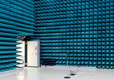 Vincent Fournier - Anechoic Chamber, European Space Research and Technology Centre [ESTEC], Noordwijk, The Netherlands, 2008.