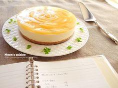 蜜桃乳酪蛋糕