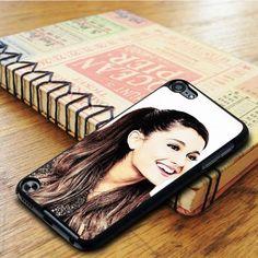 Ariana Grande Cute Smile iPod 5 Touch Case