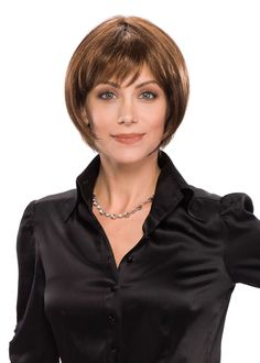 Browse our Short Wigs for women. Short wigs above the shoulder to bobs and boys cuts in straight, wavy to curly styles. Short Hair Wigs, Short Hair Styles, Long Hair, Bob With Bangs, Boy Cuts, Short Waves, Synthetic Wigs, Wig Hairstyles, Hair Lengths