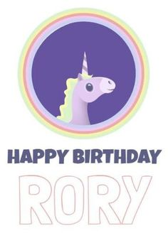 A stunning birthday card with a white background, a cute unicorn illustration, and white and purple text. Unicorn Cards, Unicorn Illustration, Cute Unicorn, Happy Birthday Cards, Templates, Purple, Happy Birthday Greeting Cards, Stencils, Template