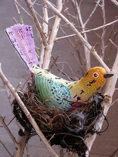 paper machete the bird