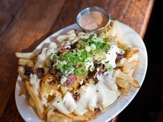 Pastrami Cheese Fries at Wise Sons, San Francisco via @Serious Eats: Drinks